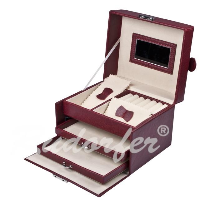 Caseta pt bijuterii model 7222 pe MARO deschis