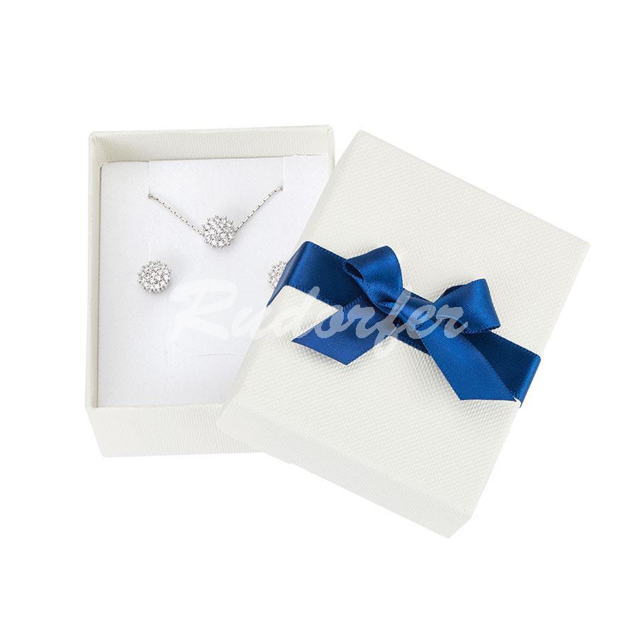 Cutie pentru inel si cercei din carton CANDY D3