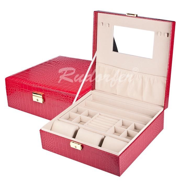 Caseta pt bijuterii model 7226 pe ROSU