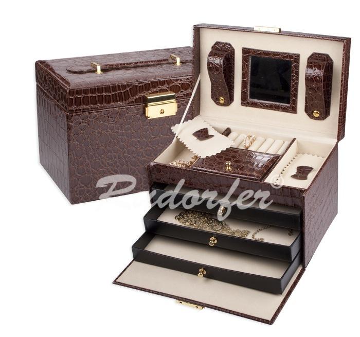 Caseta pt bijuterii model 7229 pe MARO inchis