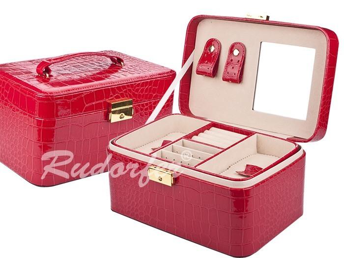 Caseta pt bijuterii model 7232 pe ROSU