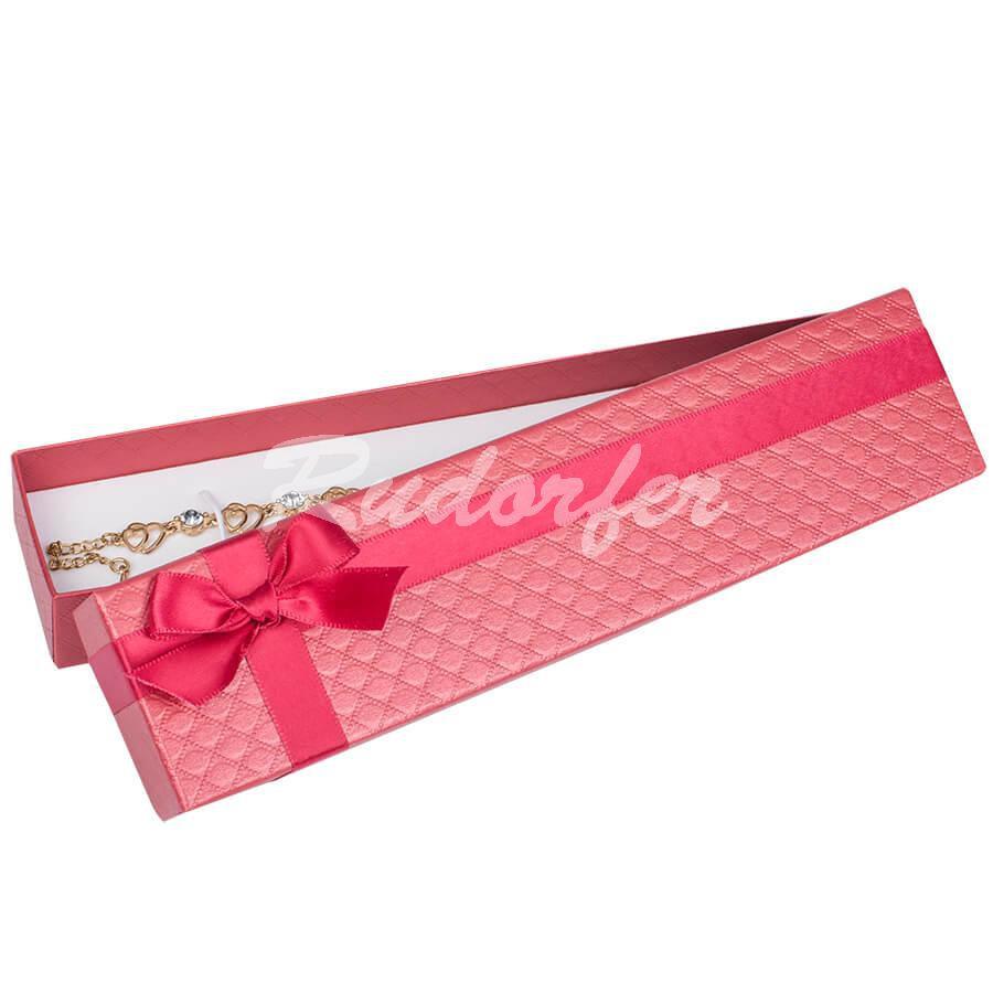 Cutie pentru bratara din carton DREAM pe rosu