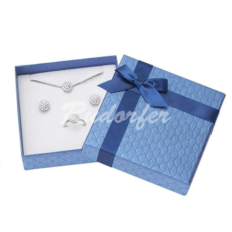 Cutie pentru seturi MIC din carton DREAM pe albastru