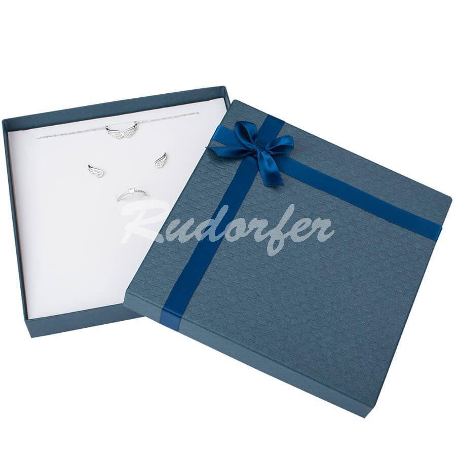 Cutie pentru seturi MARE din carton DREAM pe albastru