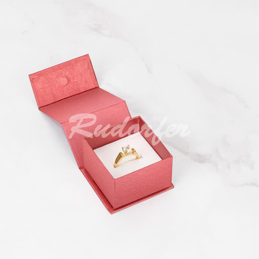 Cutie pt INEL din carton MAGNETIC pe ROSU