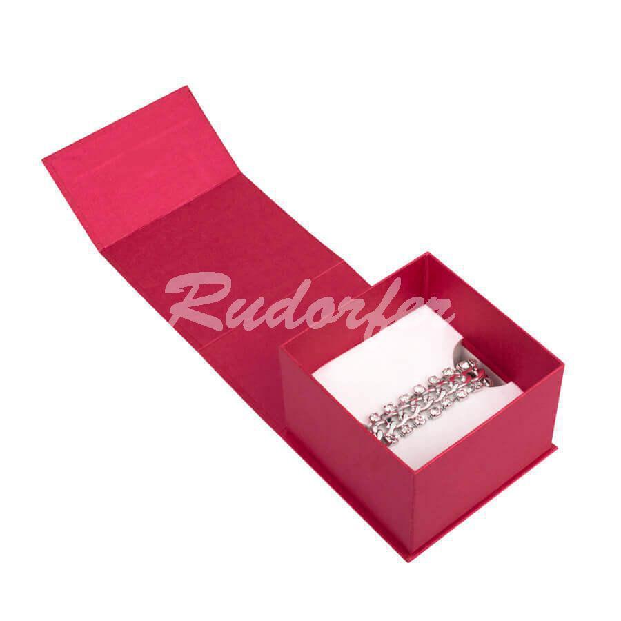 Cutie pt CEAS sau BRATARA din carton MAGNETIC pe ROSU