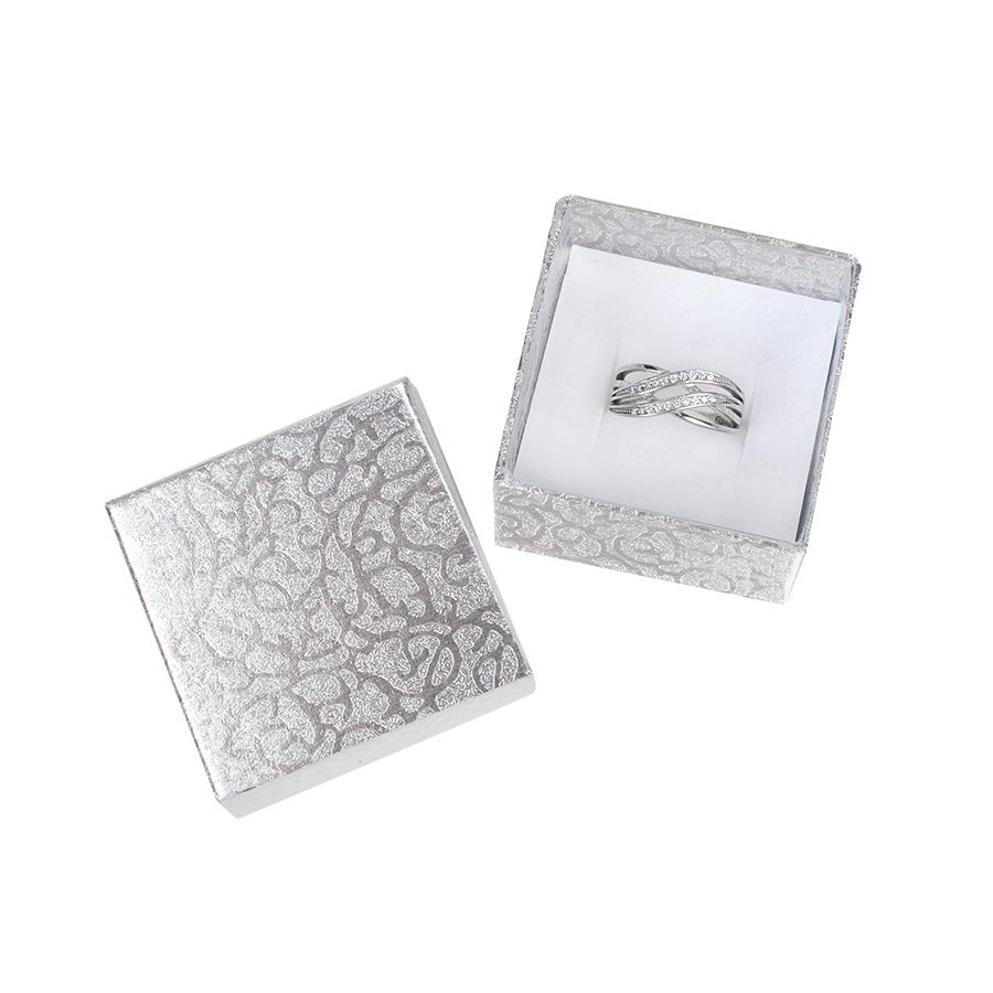 Cutie pt INEL din carton MOON pe Argintiu