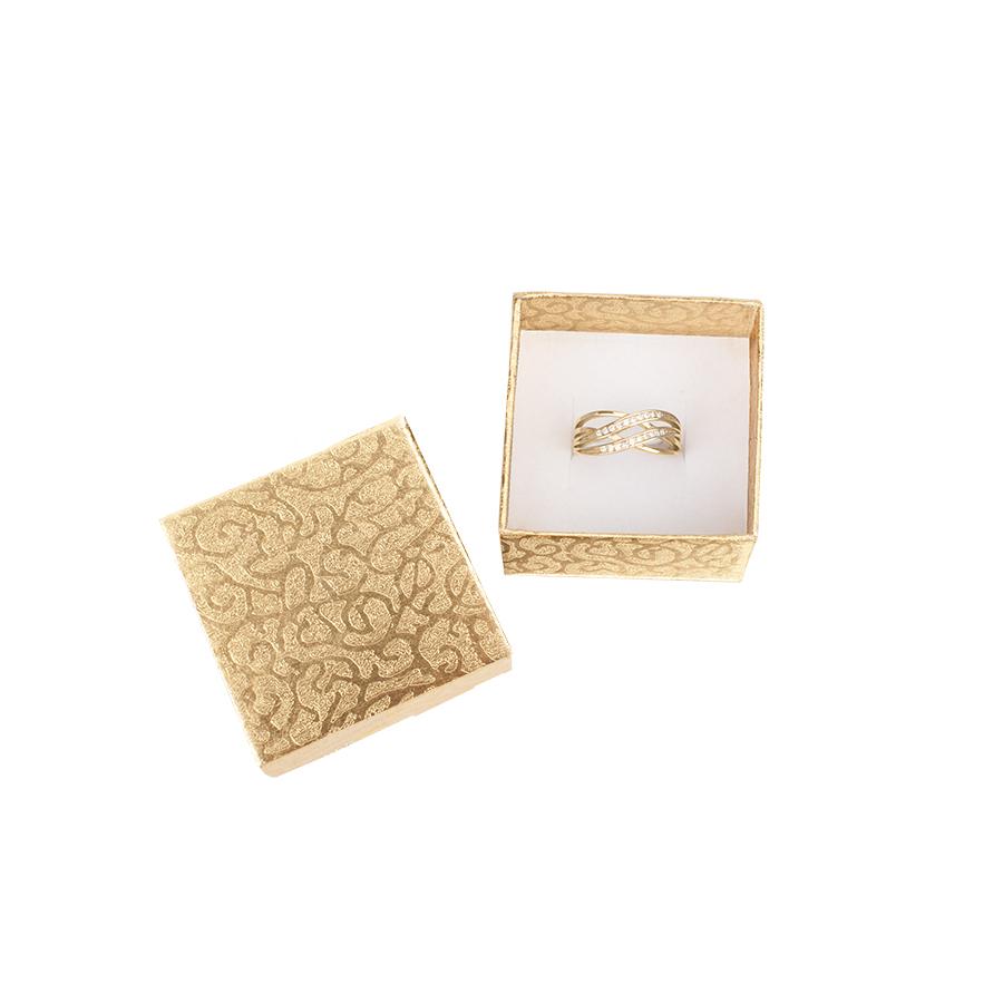 Cutie pt INEL din carton MOON pe Auriu