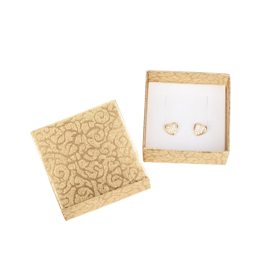 Cutie pt CERCEI din carton MOON pe Auriu