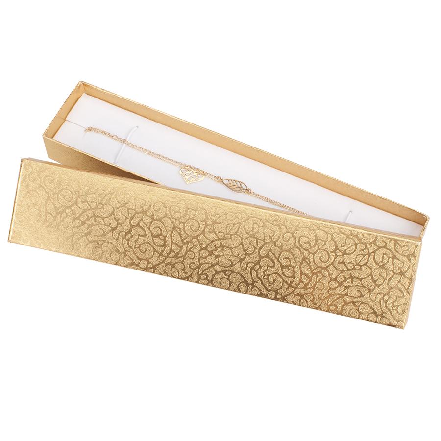 Cutie pt BRATARA din carton MOON pe Auriu
