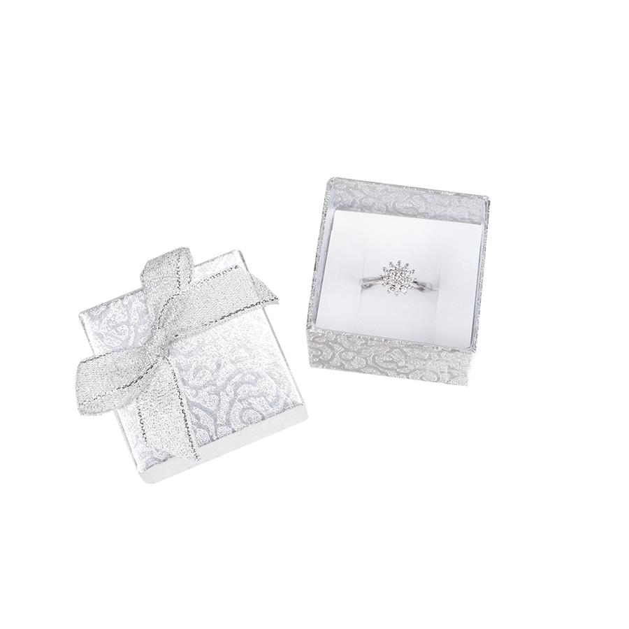 Cutie pt INEL din carton MOONLIGHT pe Argintiu