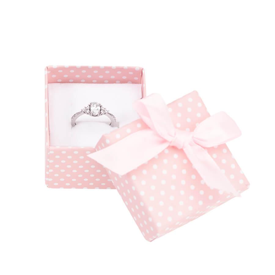 Cutie pt INEL din carton PASTELLOVE pe roz