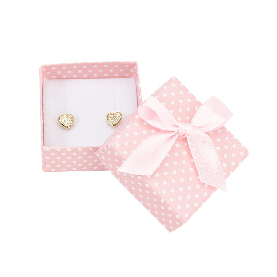 Cutie pt CERCEI din carton PASTELLOVE pe roz