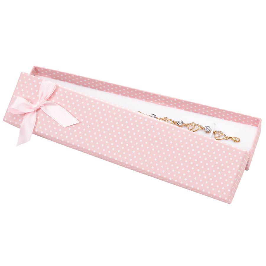 Cutie pt BRATARA din carton PASTELLOVE pe roz