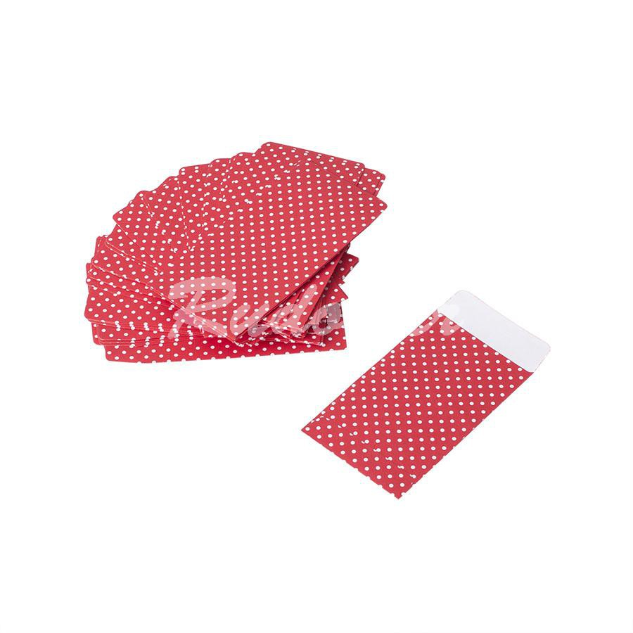 PLIC 50 x 85 mm Dotty rosu