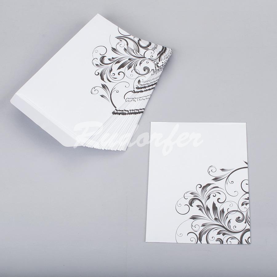 PLIC 105 x 140 mm Poem alb