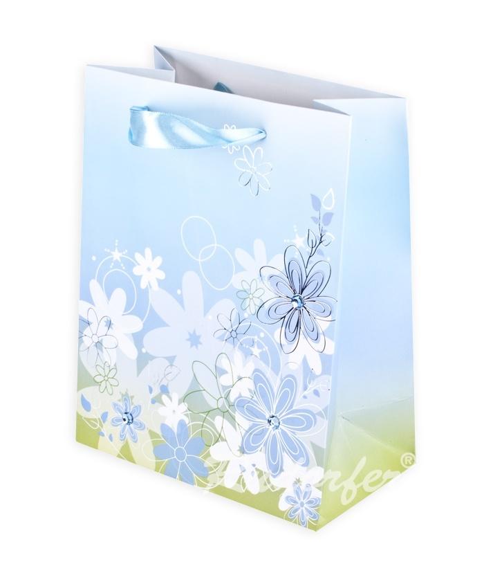 Flower MIC 180x230x100 mm pe albastru