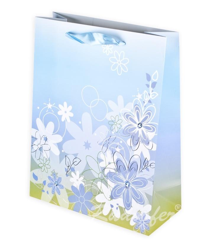 Flower MARE 250x320x110 mm pe albastru