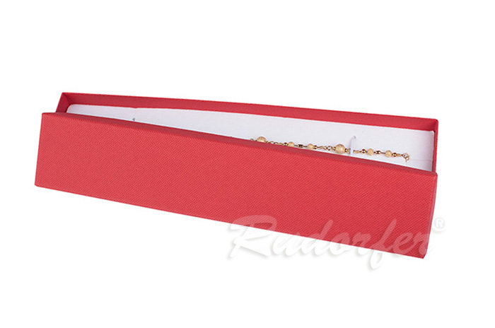 Cutie pentru bratara din carton SOFIA pe rosu
