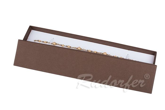 Cutie pentru bratara din carton SOFIA pe maro