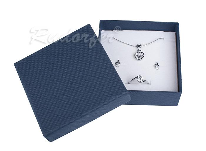 Cutie pentru seturi MIC din carton SOFIA pe albastru