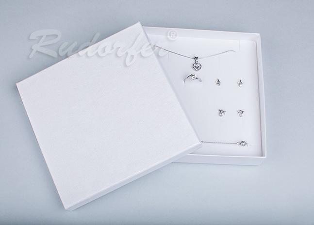 Cutie pentru seturi MARE din carton SOFIA pe alb