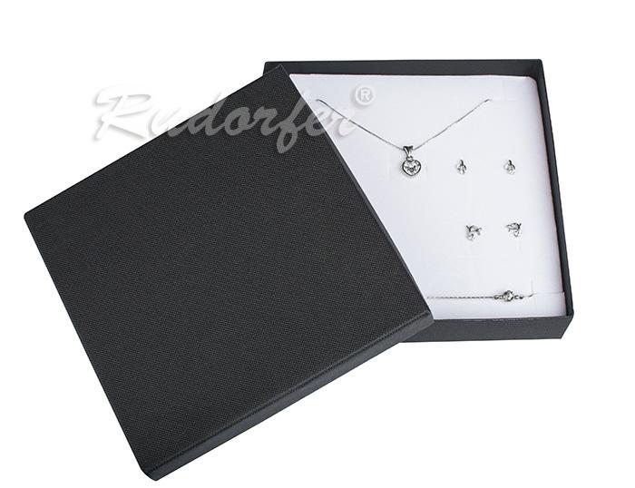 Cutie pentru seturi MARE din carton SOFIA pe negru