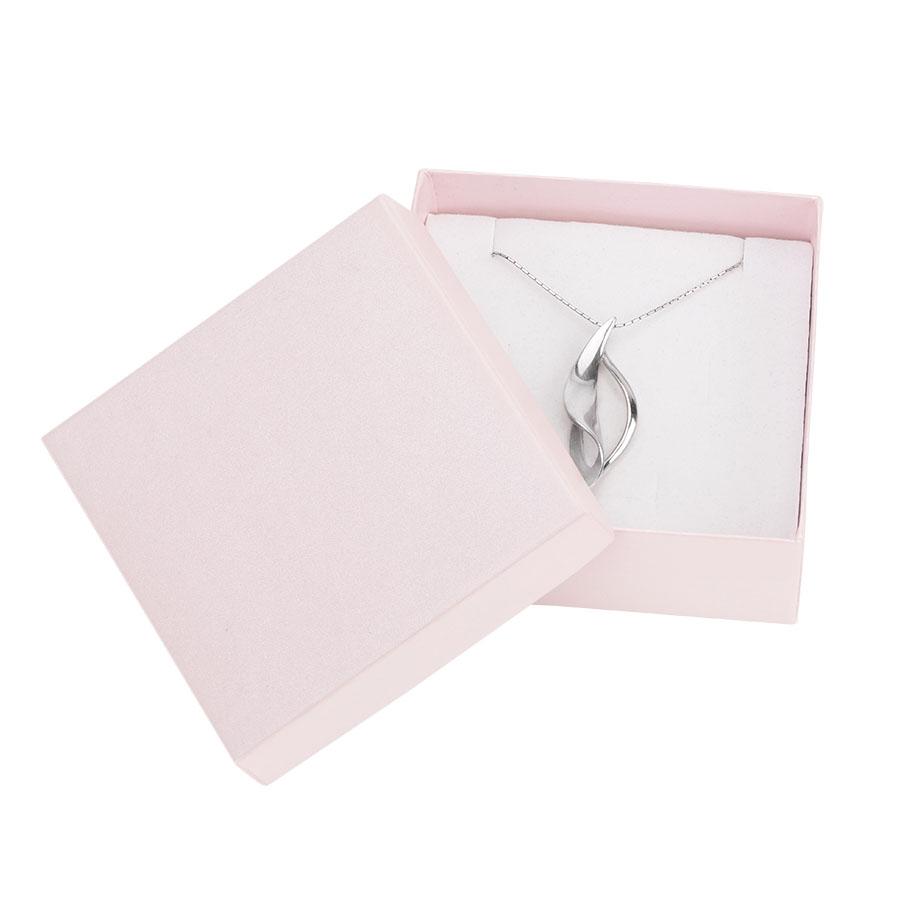 Cutie pt SET mic din carton SPIRIT PEARL pe ROZ