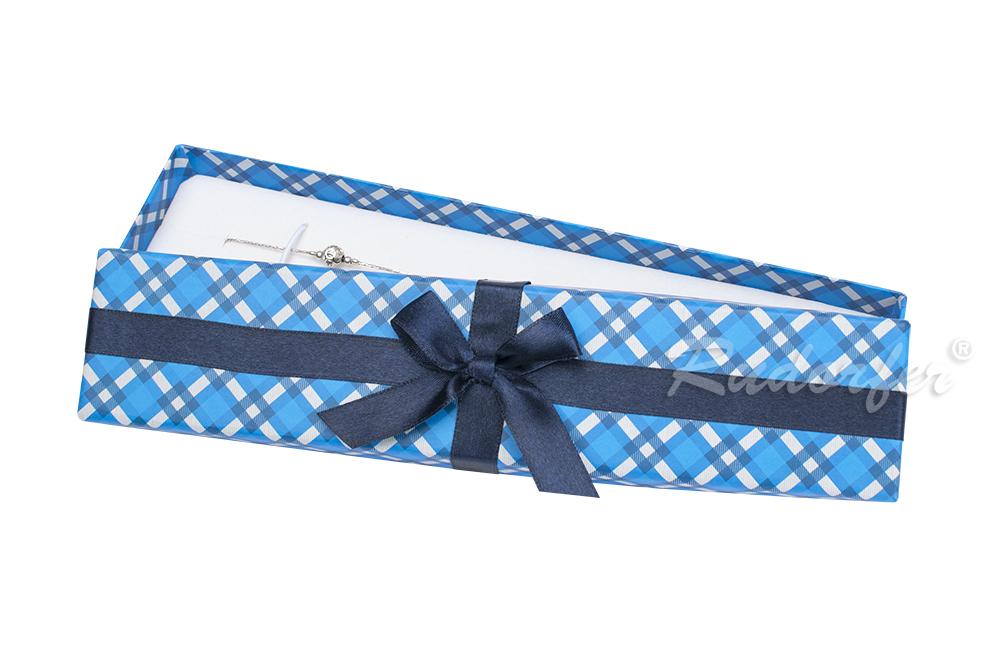 Cutie pt BRATARA din carton STELLA pe ALBASTRU