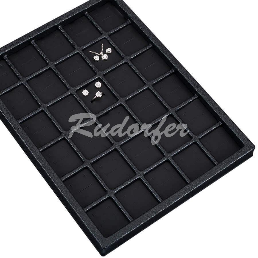Tava din plastic pt CERCEI si PANDANT 211530 pe negru