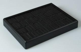 Tava din piele ecologica pt VERIGHETE 211320 pe negru