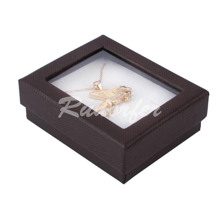 Cutie pentru set mic din carton VENEZIA pe maro